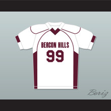 Bobby Finstock 99 Beacon Hills Cyclones Lacrosse Jersey Teen Wolf White