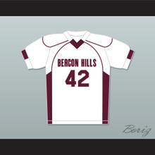 Scott Howard 42 Beacon Hills Cyclones Lacrosse Jersey Teen Wolf White