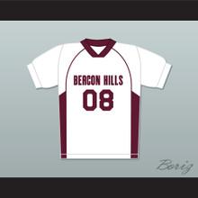 Matt Daehler 08 Beacon Hills Cyclones Lacrosse Jersey Teen Wolf White Style