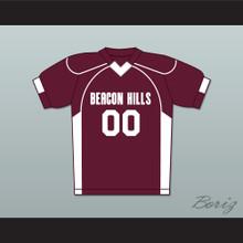 Derek Hale 00 Beacon Hills Cyclones Lacrosse Jersey Teen Wolf