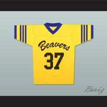 Jackson Whittemore 37 Beacon Hills Beavers Lacrosse Jersey Throwback Teen Wolf