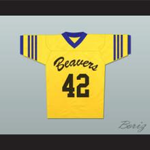 Scott Howard 42 Beacon Hills Beavers Lacrosse Jersey Throwback Teen Wolf