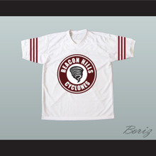 Isaac Lahey 14 Beacon Hills Cyclones Lacrosse Jersey White