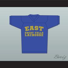 Steve Stifler 4 East Great Falls Lacrosse Jersey Blue