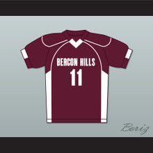 Scott McCall 11 Beacon Hills Cyclones Lacrosse Jersey Teen Wolf