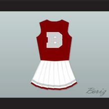 Saved By The Bell Bayside Tigers High School Cheerleader Uniform
