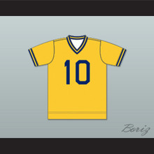 Boston Beacons Football Soccer Shirt Jersey Yellow