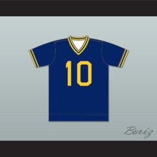 Boston Beacons Football Soccer Shirt Jersey Blue