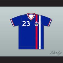 Boston Minutemen Football Soccer Shirt Jersey Blue