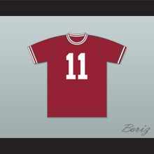 Chicago Mustangs Football Soccer Shirt Jersey Maroon