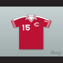 Connecticut Bicentennials Football Soccer Shirt Jersey Red