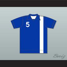 Denver Dynamos Football Soccer Polo Shirt Jersey Blue