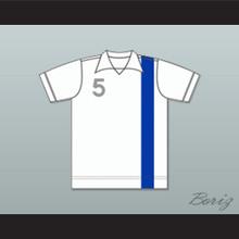 Denver Dynamos Football Soccer Polo Shirt Jersey White