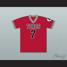 Los Angeles Toros Football Soccer Jersey Red