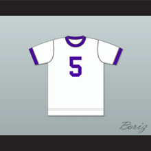 Miami Gatos Football Soccer Shirt Jersey White