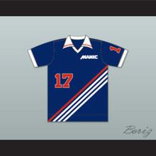 Montreal Manic Football Soccer Shirt Jersey Blue