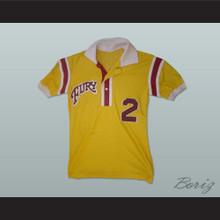Philadelphia Fury Football Soccer Polo Shirt Jersey Yellow