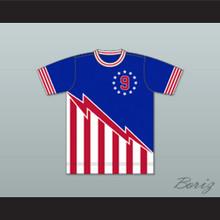 San Antonio Thunder Football Soccer Shirt Jersey Blue