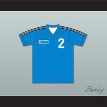 Team Hawaii Football Soccer Shirt Jersey Light Blue