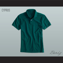 Men's Solid Color Cyprus Polo Shirt