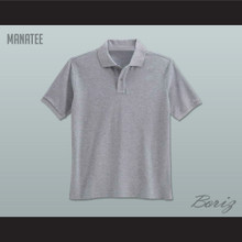 Men's Solid Color Manatee Polo Shirt