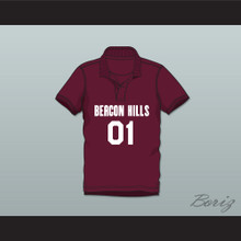 Peter Hale 01 Beacon Hills Cyclones Polo Shirt Teen Wolf