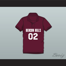 Vernon Boyd 02 Beacon Hills Cyclones Polo Shirt Teen Wolf