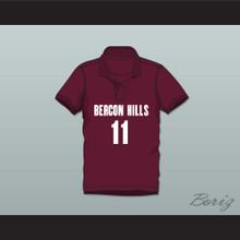 Scott McCall 11 Beacon Hills Cyclones Polo Shirt Teen Wolf