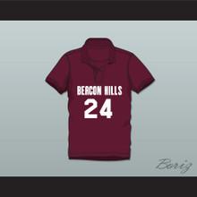Stiles Stilinski 24 Beacon Hills Cyclones Polo Shirt Teen Wolf