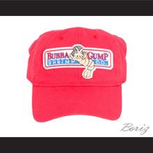 Bubba Gump Shrimp Red Baseball Cap Tom Hanks Company Hat