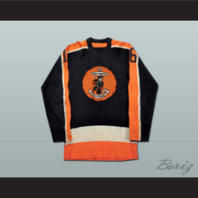 Baltimore Clippers Hockey Jersey Black