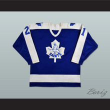 Basil McRae St. Catherine Saints Hockey Jersey