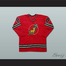 Danny Gruen Michigan Stags Hockey Jersey