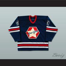 Ed Giacomin NY Original Six Oldtimers Hockey Jersey