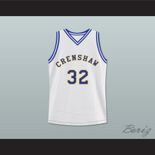 Monica Wright 32 Crenshaw High School Basketball Jersey Love and Basketball