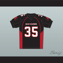 35 Stink Mean Machine Convicts Football Jersey Includes Patches