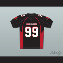 99 Bronson Mean Machine Convicts Football Jersey Includes Patches