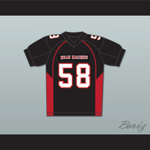 58 Harley Mean Machine Convicts Football Jersey