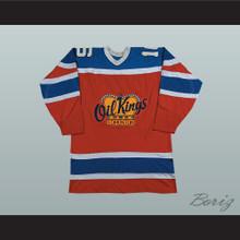 Edmonton Oil Kings Defunct Team Hockey Jersey Stitch Sewn New