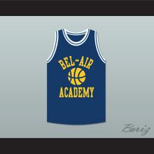 Bel-Air Academy Blue Practice Basketball Jersey