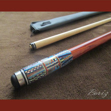 Boriz Billiards Cue Stick Original Inlay Artwork 050