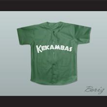 Clarence 4 Kekambas Baseball Jersey Hardball Dark Green