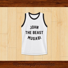 John 'The Beast' Mugabi Light Middleweight Champion Boxer Jersey by Morrissey&Macallan