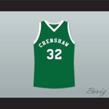 Monica Wright 32 Crenshaw High School Green Basketball Jersey Love and Basketball