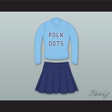 Kelly Bundy Polk Dots Polk High School Cheerleader Uniform Married With Children