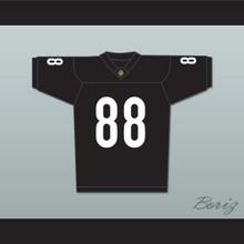 Bill Bellamy Jimmy Sanderson 88 Miami Sharks Football Jersey Any Given Sunday Includes AFFA Patch