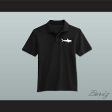 Coaching Staff Miami Sharks Black Polo Shirt Any Given Sunday