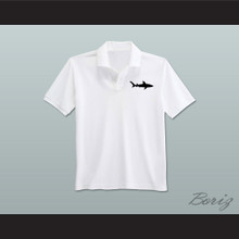 Coaching Staff Miami Sharks White Polo Shirt Any Given Sunday