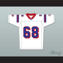 Ace Yonamine Jumbo Fumiko 68 Washington Sentinels Away Football Jersey The Replacements Includes League Patch