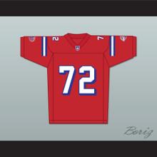 Faizon Love Jamal Jackson 72 Washington Sentinels Home Football Jersey The Replacements Includes League Patch